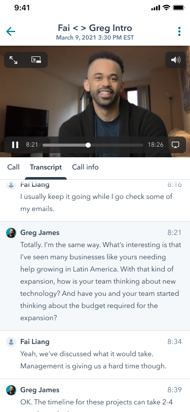 9_call review on mobile-png